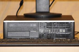 i7 CPU Very Fast HP 6200 SFF 8GB 1TB Windows 10 desktop computer