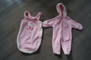 Snowsuit with bunting bag