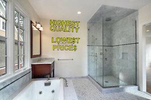 Luxurious Glass Shower Door with Hinges and Handles - New! Regina Regina Area image 1