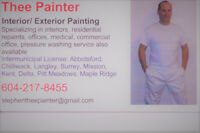 THEE PAINTER- Custom home painting interior/exterior