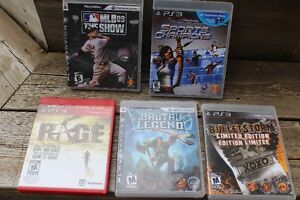5  PLAY STATION 3   GAMES   ONLY $15.00