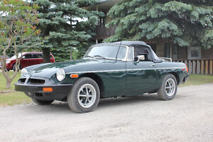 1978 Convertible MGB 4-sped standard