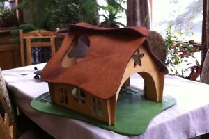 Twig studio waldorf wooden dollhouse