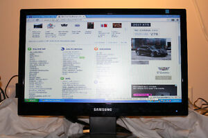 Samsung 19 inch widescreen LCD model SyncMaster 943SWX