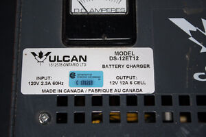 Vulcan 12volt Wall Mounted battery charger London Ontario image 2