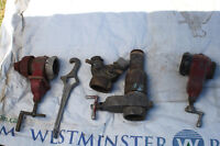 "1 1/2"" to 3"" Water pump hoses, valves and fittings"