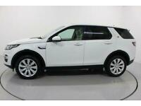 2015 WHITE LAND ROVER DISCOVERY SPORT 2.2 SD4 HSE LUX CAR FINANCE FR £337 PCM