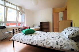 Twin room available in Bethnal green station. £210pw all incl