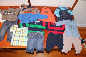 Lot de vêtements bébé garçon 0 à 12 mois