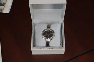 LADIES CALVIN KLEIN SILVER WATCH