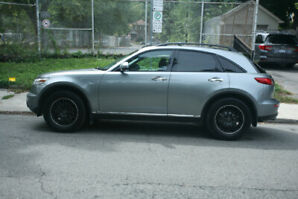 2008 Infiniti FX35 with $3500 of aftermarket extras