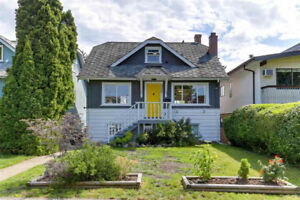 Charming 3-Bedroom Character Home at Fraser/49th for Rent