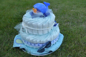 Diaper Cake / Baby Gift - sale