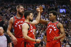 Toronto Raptors Home game tickets all season long! 416-398-2414