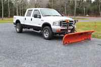 2005 Ford F-350 lariat 4x4 with 8 1/2' plow