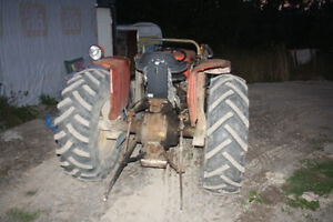 tractor mf 135 with  loader