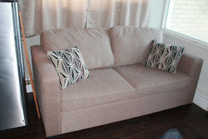 Double bed pull out couch for sale