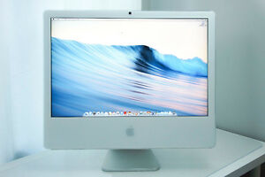 "LIKE NEW APPLE IMAC 24"" INTEL DUAL CORE! 3 GB RAM! WITH WARRANTY"