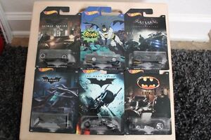 2014 Hot Wheels Batman Cars 1:64 scale