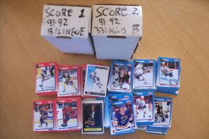 Carte de hockey Série Score 1991-92 (Y1500-227)