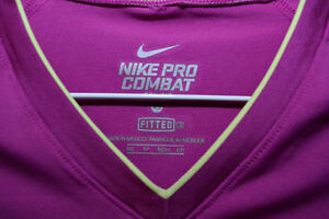 Nike pro combat work out top