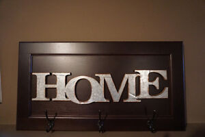 HAND MADE HOME SIGN - PICK UP IN CAMROSE