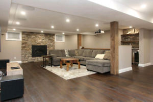 Basement Renovations & Finishing.  XMAS SPECIALS!