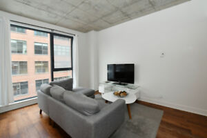 Fully furnished condo for rent near Griffintown