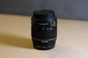 Canon EF-S 18-55mm f/3.5-5.6 IS STM LENS As New