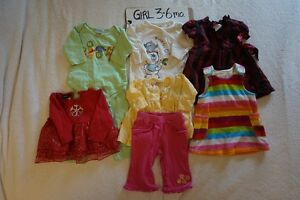 Girls winter clearout size 3-6 mo.