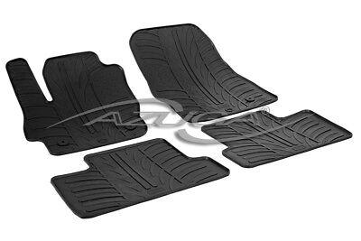2009 Reifen (Gummimatten für Mazda 3 5/2009-9/2013 Gummi-Fußmatten mit Clips Reifen-Design)