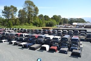 Used Truck Canopies - 350 in stock !!