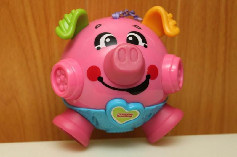 Fisher Price Bounce and Giggle Piggy