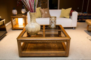 Coffee Table + Side Table Set