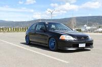 1996 Honda Civic CX Coupe (2 door)