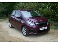 One Owner done 11198 Miles PEUGEOT 108 CATS ACTIVE with FULL SERVICE HISTORY