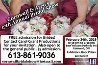 Cornwall & Area Bridal Show