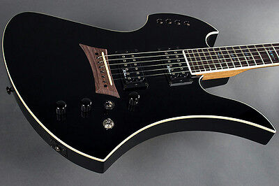 Bc Rich Mockingbird Polarity Electric Guitar With Piezo  Black Finish