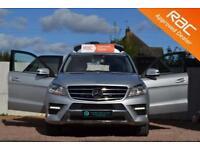 2013 13 MERCEDES-BENZ M CLASS 2.1 ML250 BLUETEC AMG SPORT 5D AUTO 204 BHP DIESEL