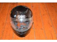 Shoei Helmet + Neck Warmer