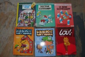 * BD, Lou, Sisters, Kid Paddle, Piment, Pirate,, Bone, spirou