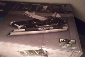 motomaster aluminum steel garage 3 ton jack