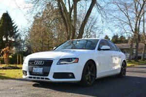2012 Audi A4 w/ REMOTE STARTER/BLIZZAK WINTER TIRES