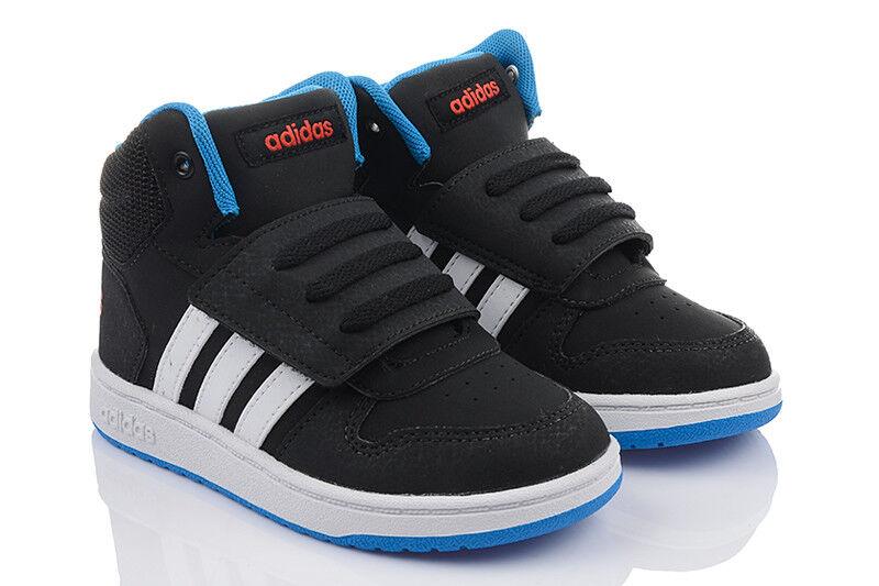 Schuhe ADIDAS HOOPS MID Kinderschuhe High Top Sneaker Turnschuhe 21 25,5 26,5