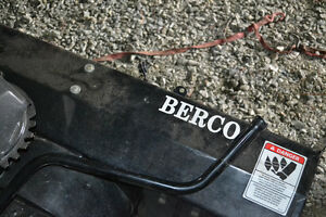 Berco snow blower attachment