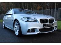 2013 63 BMW 5 SERIES 2.0 520D M SPORT 4D AUTO 181 BHP DIESEL