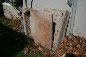 """Concrete - Cement Steps 27""""X 30"""" with 7"""" rise - 2 pieces free"""