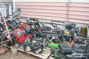 WANTED: YOUR GAS POWERED BROKEN/UNWANTED YARD EQUIPMENT FOR FREE