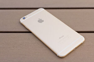 iPhone 6s Plus Gold with AppleCare until 2018 Fido