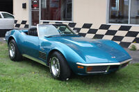 Corvette LT1 convertible 1972